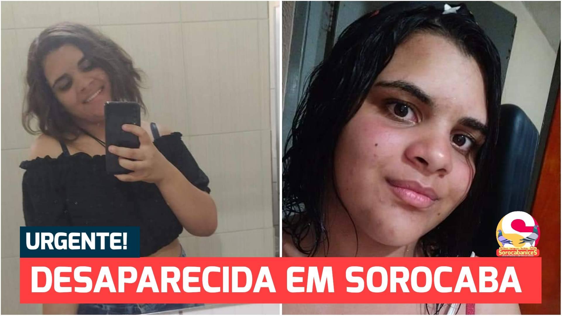 Garota de 16 anos com bipolaridade desaparece em Sorocaba