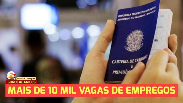 Mutirão do governo de SP e UGT oferece mais de 10 mil vagas de emprego; se cadastre!