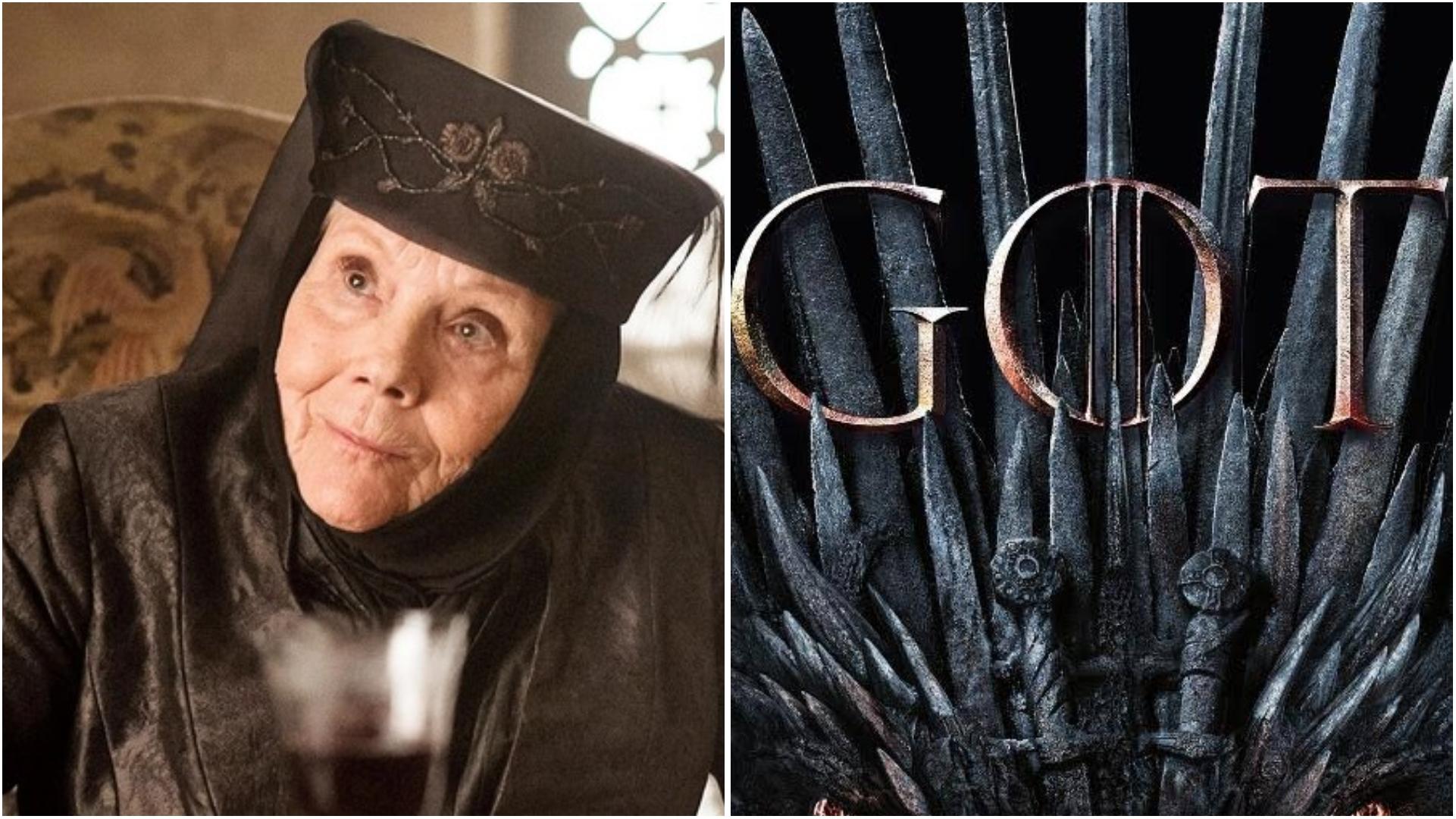 Atriz Diana Rigg de 'Game Of Thrones',  morre aos 82 anos
