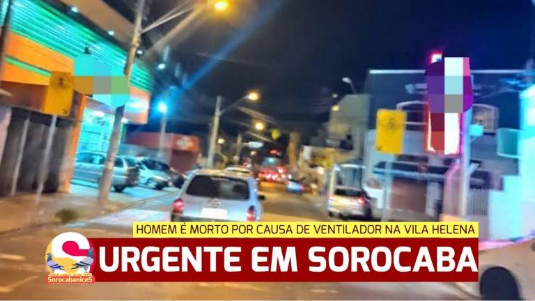 Homem é assassinado por causa de ventilador na Vila Helena em Sorocaba