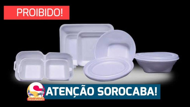 Uso de embalagens de isopor está proibido em Sorocaba; veja o decreto
