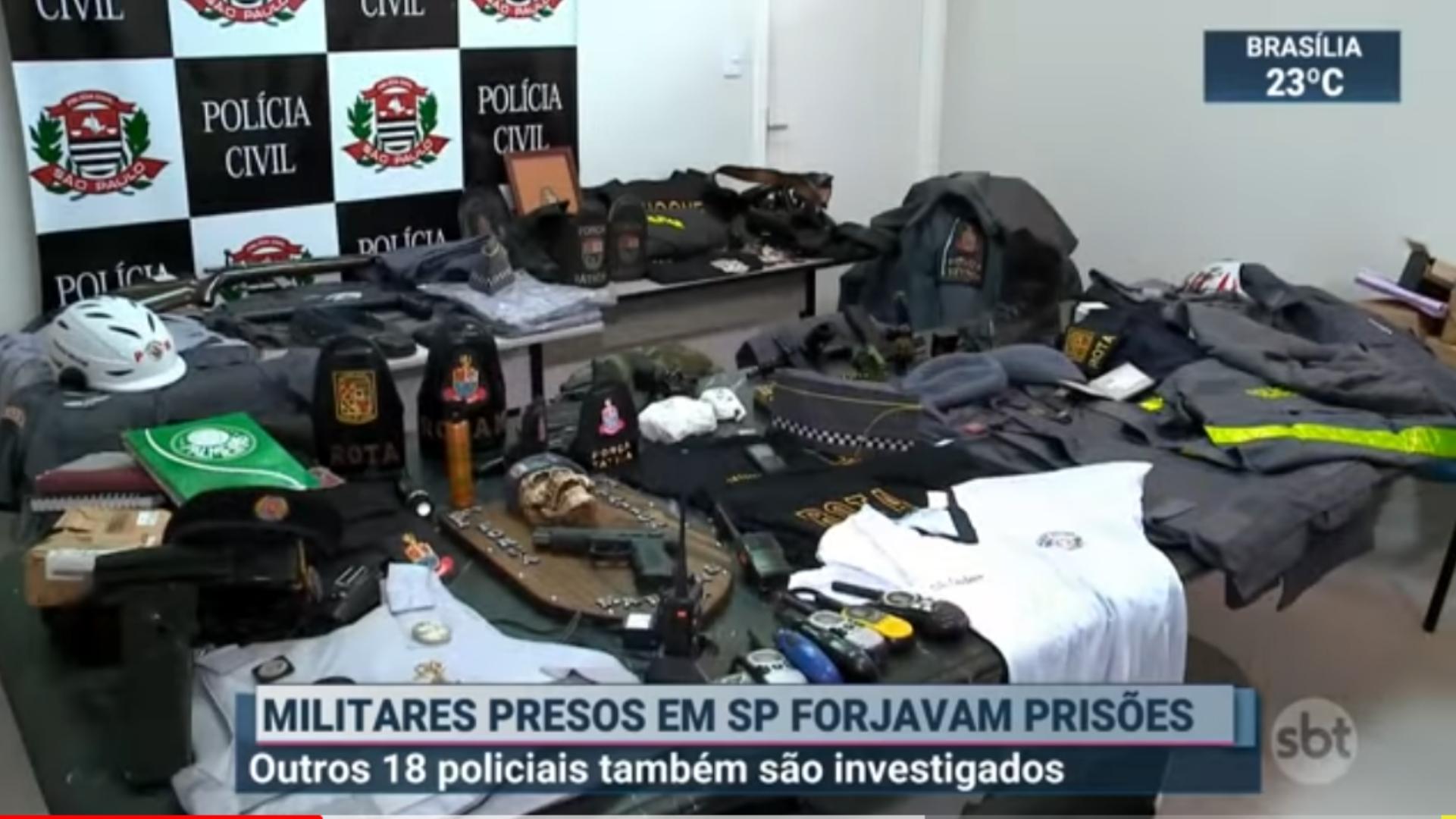 PMs presos em Sorocaba por extorquir traficantes também forjavam prisões